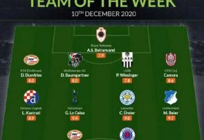 بیرانوند در تیم منتخب هفته لیگ اروپا