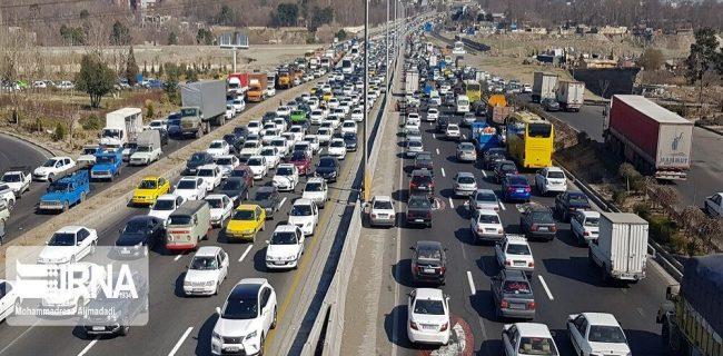 افزایش ۲.۵ برابری ورود خودروها به گیلان