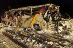 حادثه برای تیم دسته سومی شهرداری نوشهر در در جاده چالوس