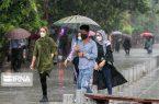 بارش ۹۸ میلیمتری در گیلان ثبت شد