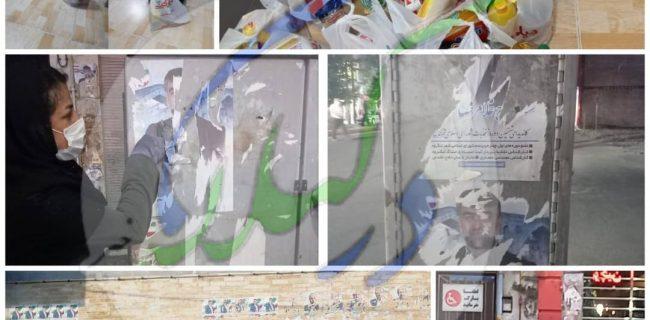 پوستر های تبلیغاتی…تهدیدی که در لنگرود به فرصت تبدیل شد