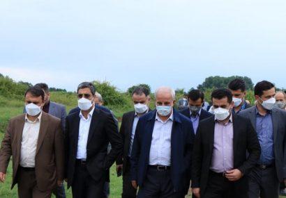 معاون وزیر صمت در بازدید از ناحیه صنعتی لشت نشا